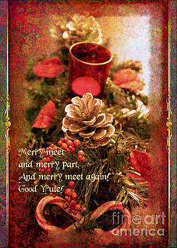 Yule Greetings 2017 by Kathryn Strick