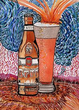 Yum Burr Hyf. Beer by Connie Valasco