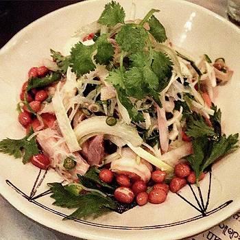 Yum Pork Belly And Prawn Noodle Salad by Arya Swadharma