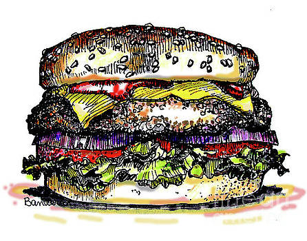 Yummy Burger by Terry Banderas