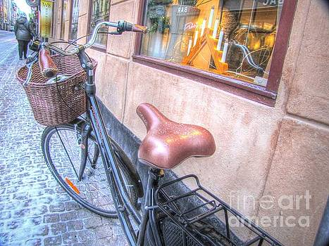 YURY BASHKIN Stockholm street by Yury Bashkin
