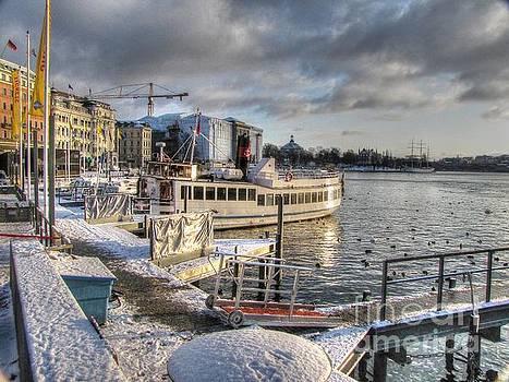 YURY BASHKIN Stockholm winter by Yury Bashkin