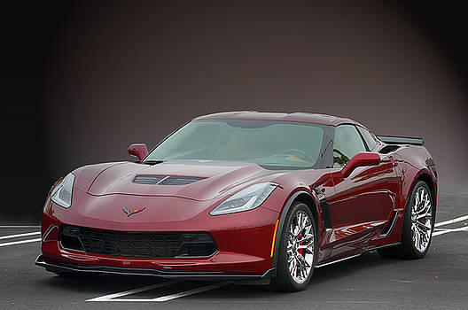 Z06 Vette at CBAD by Bill Dutting