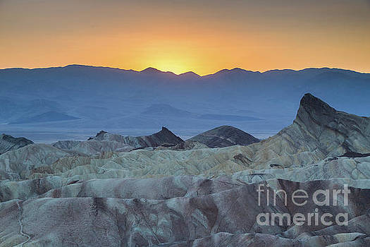 Zabriskie Point Sunset by JR Photography