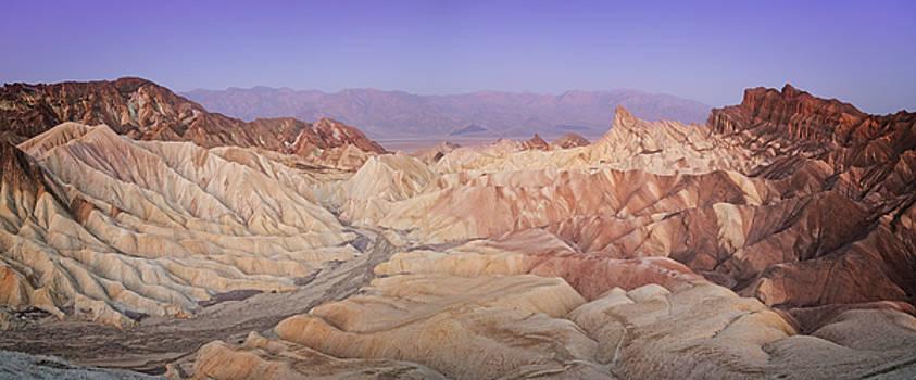 Ricky Barnard - Zabriskie Sunrise Panorama