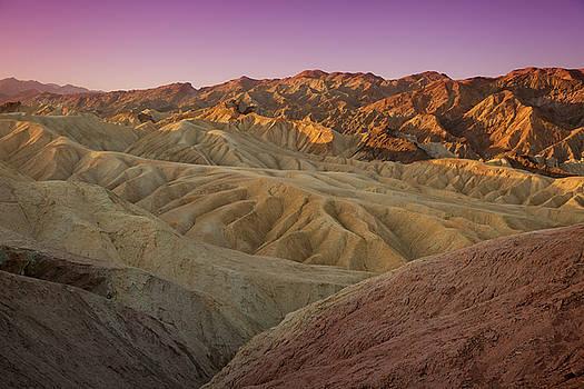Zabriskie Sunrise XI by Ricky Barnard