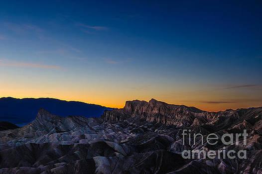 Zabriskie Sunset by Charles Dobbs