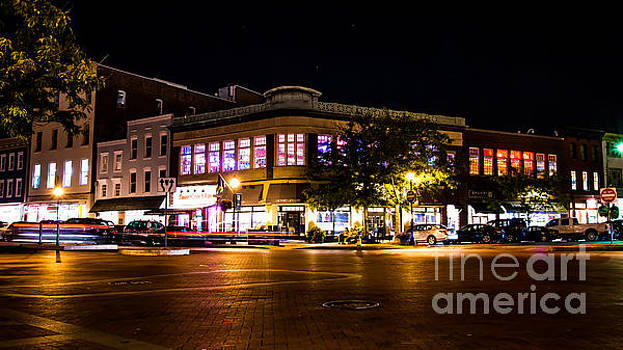 Zachary's Jewelers At Night by Eric Geschwindner