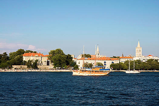 Zadar Croatia Coast by Sally Weigand