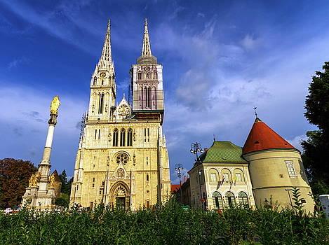 Elenarts - Elena Duvernay photo - Zagreb Cathedral, Croatia
