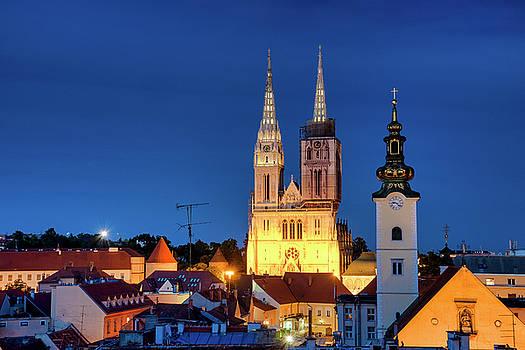 Zagreb Cathedral by Fabrizio Troiani