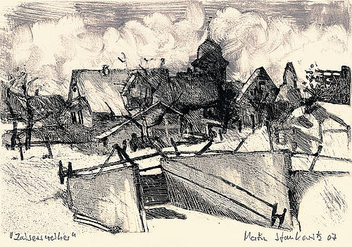 Martin Stankewitz - Zaisersweiher picturesque swabian village