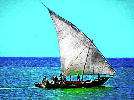 Dennis Cox Photo Explorer - Zanzibar Dhow