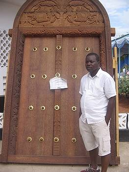 Zanzibar Door by Ramadhani Mbwana
