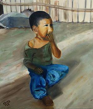 Zapotec Boy by Sylvia Riggs