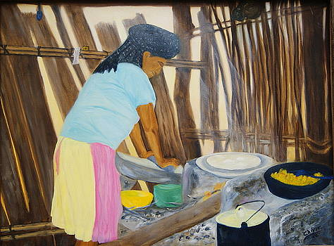 Zapotec Kitchen by Sylvia Riggs