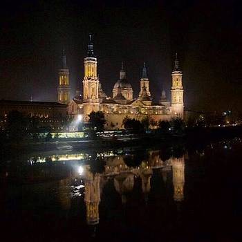 Zaragoza By Night by Stefano Bagnasco