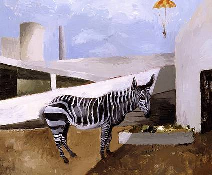 Wood Christopher - Zebra And Parachute 1930