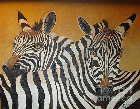 Zebra Love by Barbara Haviland