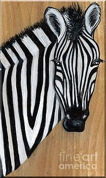 Zebra by Minnie Lippiatt