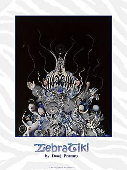 ZebraTiki poster by Douglas Fromm