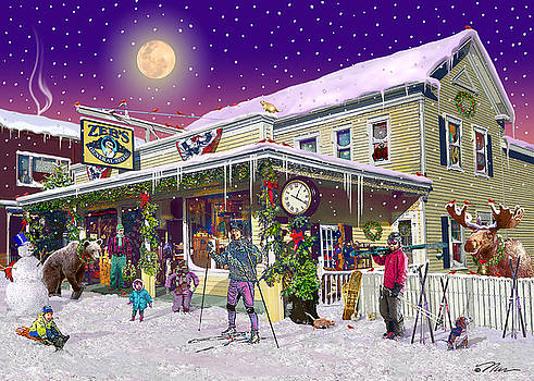 Zebs General Store in North Conway New Hampshire by Nancy Griswold