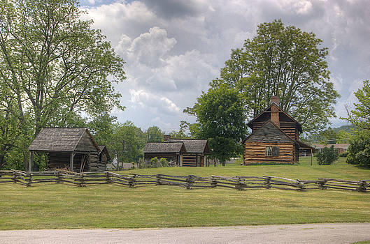 Zebulon Vance Birthplace by BG Flanders