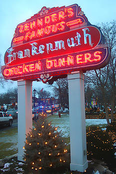 Zehnder's famous neon sign  by Kevin Snider