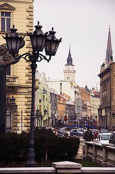 Newnow Photography By Vera Cepic - Zeleznicka street in the center of Novi Sad