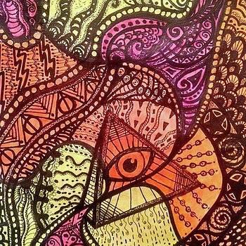 All Seeing Eye by Myssah Lee