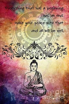 Justyna Jaszke JBJart - Zen Art Inspirational Buddha quotes