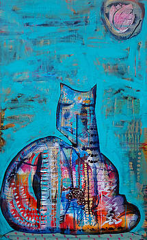 Zen Cat Zen by Jenn Ashton