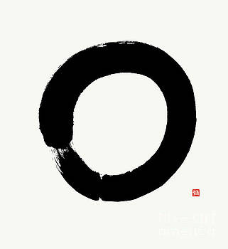 Zen Enso - Perfection  by Nadja Van Ghelue