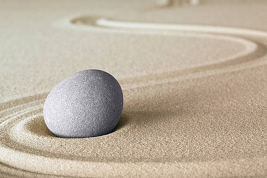 Zen meditation to harmony by Dirk Ercken