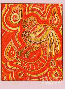 Zen Phoenix by Wendy Coulson