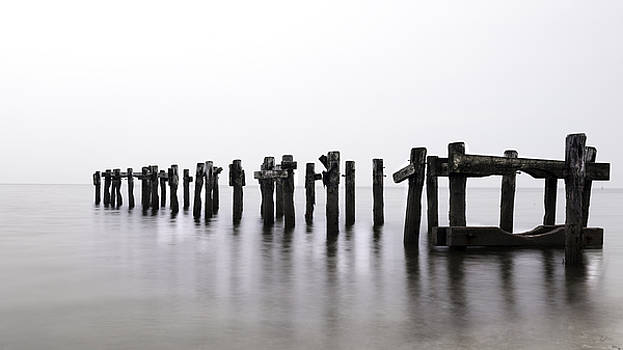 Expressive Landscapes Fine Art Photography by Thom - Zen Piers by Tom Schoeller - Open Edition Print