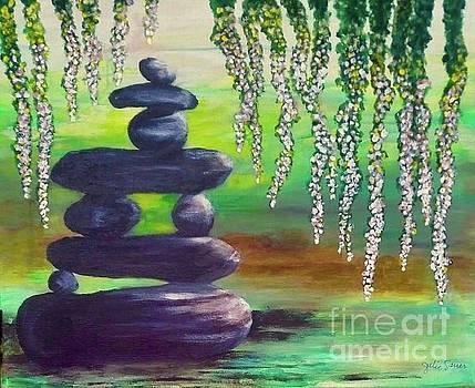 Zen Pond by Julie Sauer