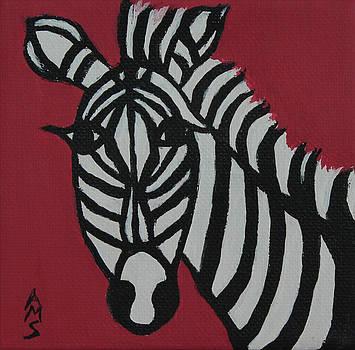 Zena Zebra by Annette M Stevenson