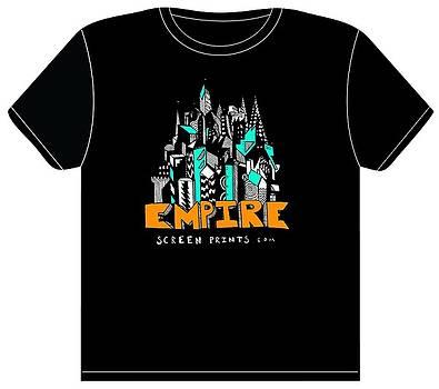 Zigzagland Empire t-shirt by John  Stidham