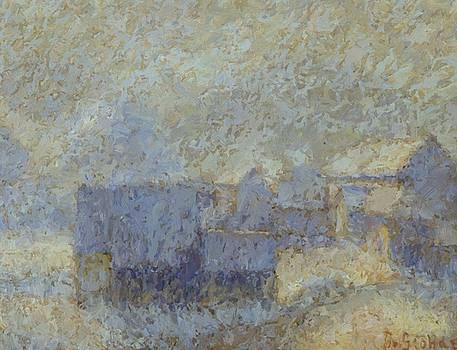 Zimsko Jutro 1911 by Grohar Ivan