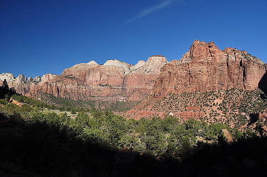 Zion Morning by Jeff Moose