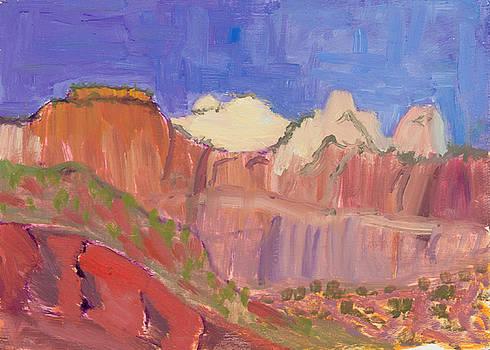 Zion National Park Utah by Suzanne Elliott