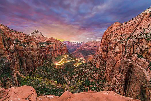 Zion Sunset by Ryan McKee