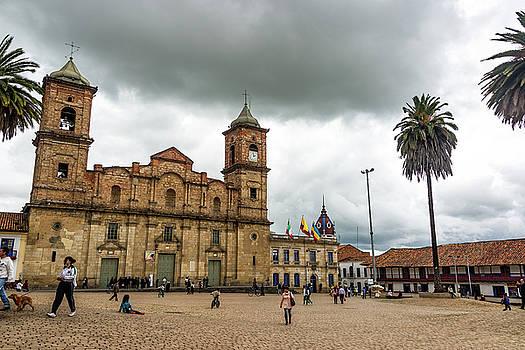 Zipaquira Main Plaza by Jess Kraft