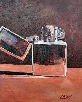 Zippo-Light My Fire  by Maria Soto Robbins