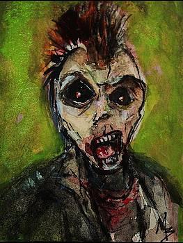 Zombie Apocolypse Art by Michele Carter