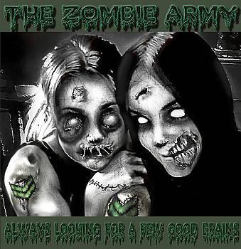 Zombie Army Girls by Yvonne Willemsen