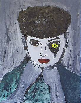 Zombie Hepburn by Brandon Doster