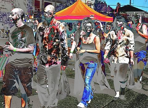 Zombie Queue by Katy Granger