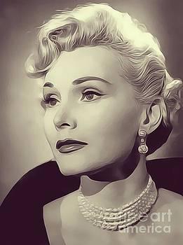 John Springfield - Zsa Zsa Gabor, Vintage Actress